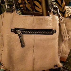 The Sak beige Leather handbag